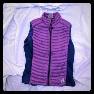 Eddie Bauer first Ascent down vest woman's XS